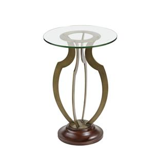 Krier Round Accent Table