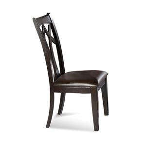 Elation Wood Back Side Chair