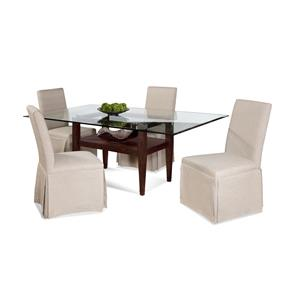 Bassett Mirror Thoroughly Modern Dunhill Casual Dining Set