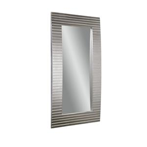 Bassett Mirror Thoroughly Modern Tambour Leaner Mirror