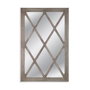 Bassett Mirror Thoroughly Modern Parke Wall Mirror