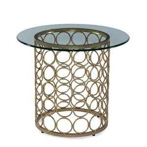 Carnaby Round End Table