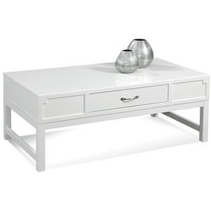 Bassett Mirror Zoe Rectangular Cocktail Table