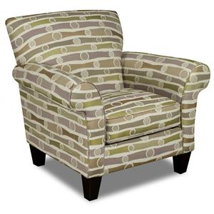 Track Arm Upholstered Chair