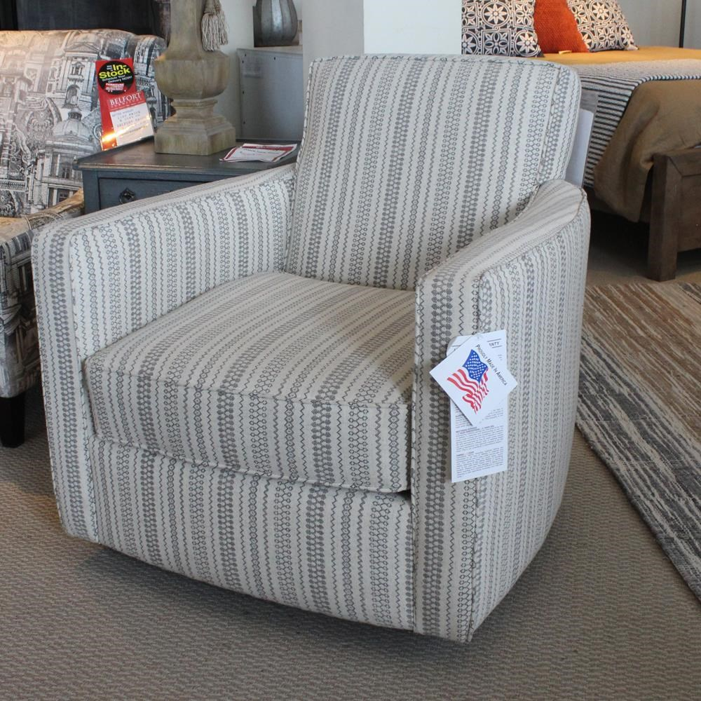 Metro Collection 55D Swivel Chair - Item Number: 516404437