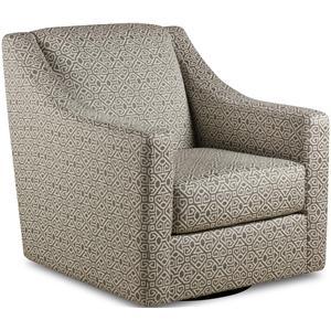 Bauhaus 584 Swivel Upholstered Chair