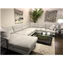 Bauhaus 659A 3 PC Sectional - Item Number: 659A 3 PC SECTIONAL