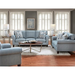 Bauhaus 714 Stationary Living Room Group