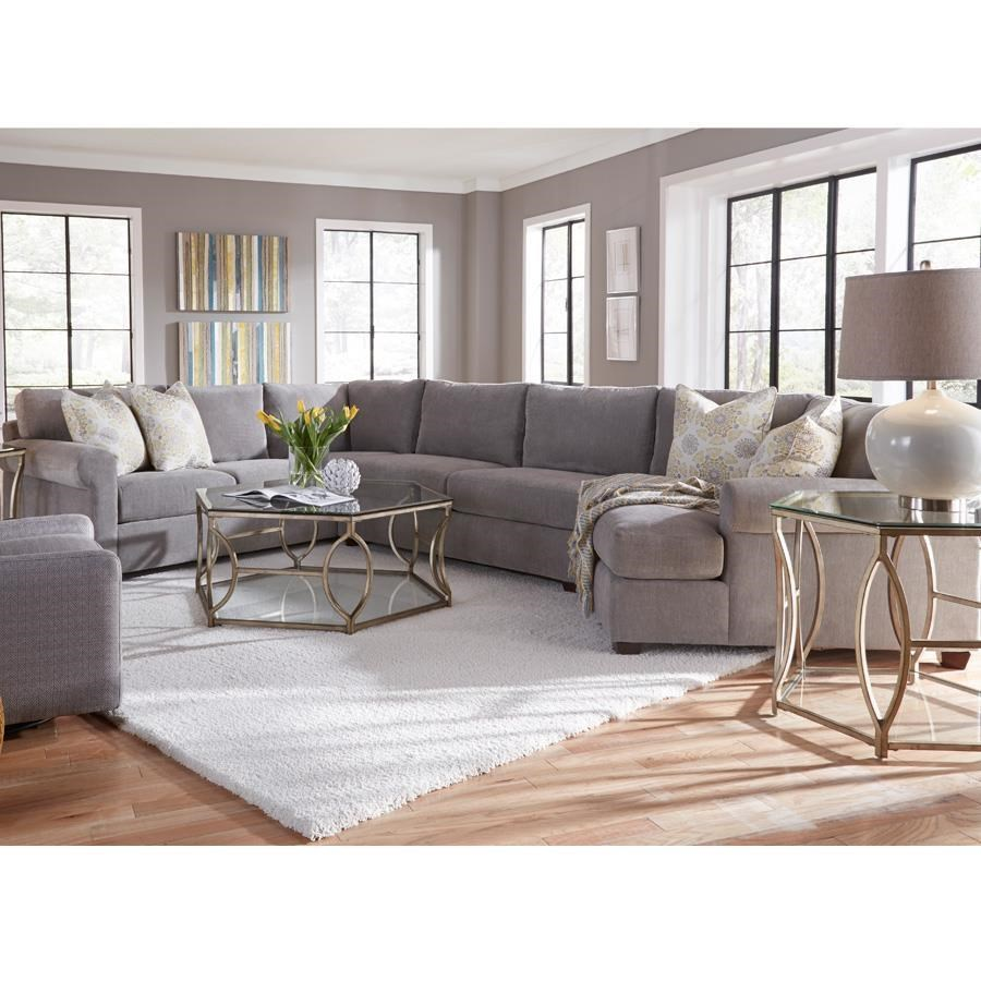 Metro Collection Spring Hill Sectional - Item Number: 810A-51+25+17