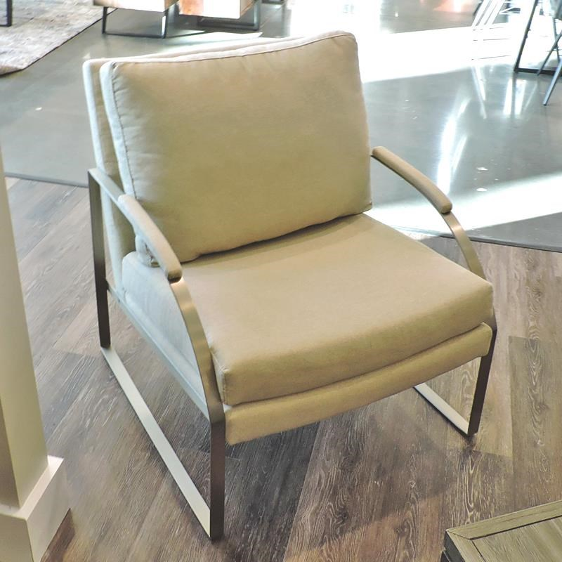 Metro Collection Accent Chairs Metal Arm Chair Belfort