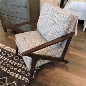 Wood Trim Accent Chair