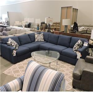 """Metro Collection Clearance """"Simple Solution"""" 2 Piece Sectional"""
