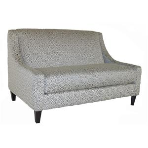 Bauhaus Connick Contemporary Settee