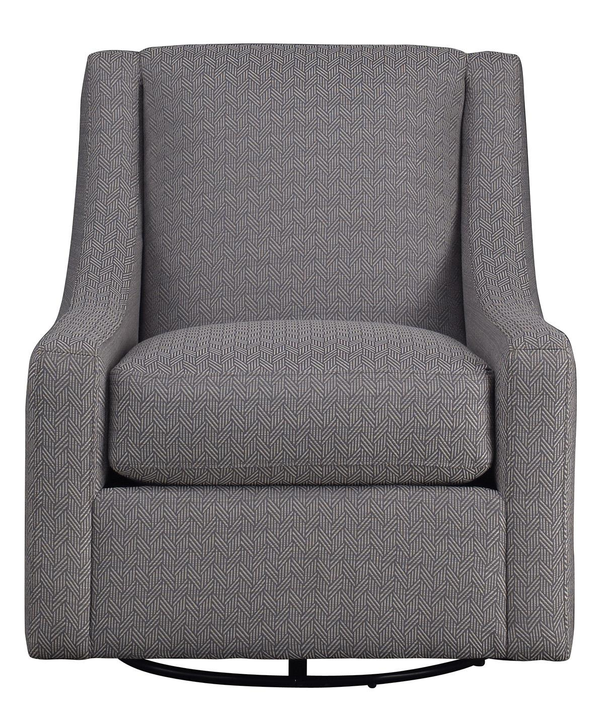 Metro Collection Accents Contemporary Swivel Chair - Item Number: 452U-44