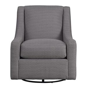 Metro Collection Accents Contemporary Swivel Chair