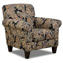Bauhaus 404 Accent Chair with Rolled Arms - 404A-40