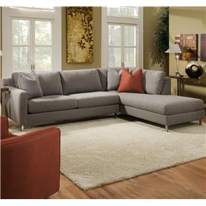 Bauhaus Icona N18a Sofa Sectional With Chaise