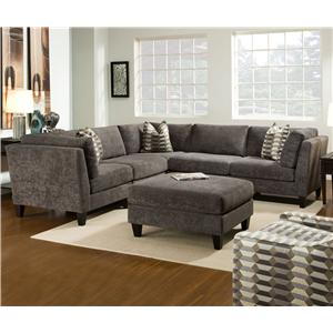 Bauhaus McGraw Contemporary 5 Piece Sectional