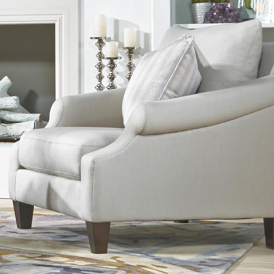 Metro Collection McLean Transitional French Chair - Item Number: K09A-41