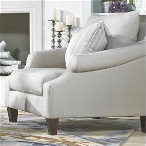Metro Collection McLean Transitional French Chair