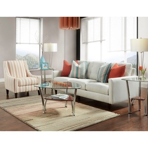 Bauhaus Nelson Stationary Living Room Group