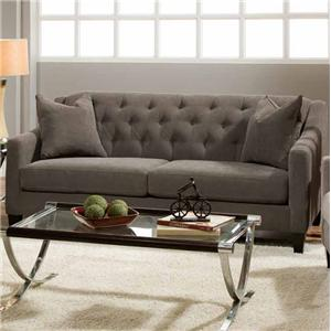 Bauhaus South Street Stationary Sofa W Tufted Back