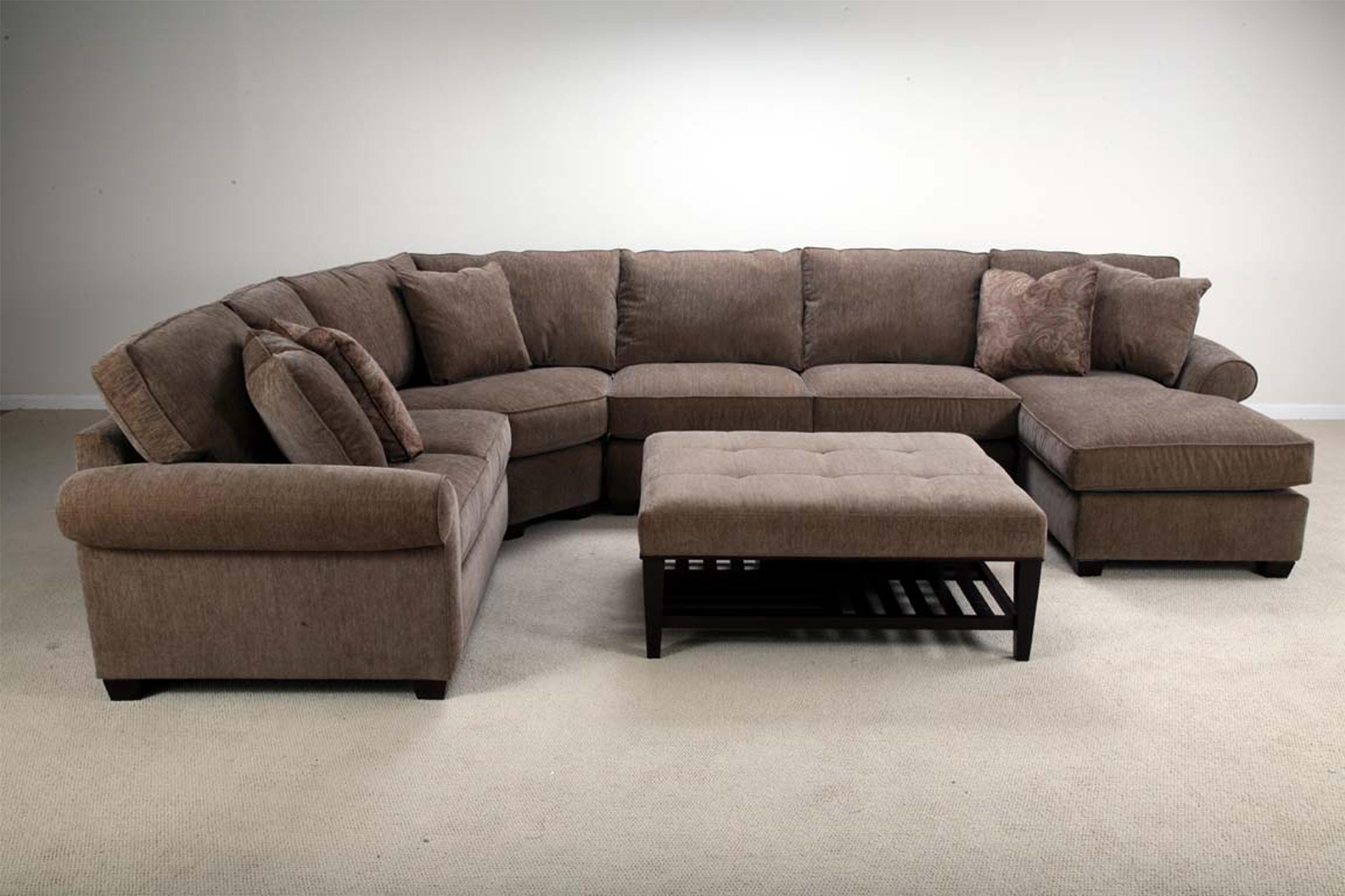Bauhaus U09A Stationary Sectional with Right Facing Chaise AHFA