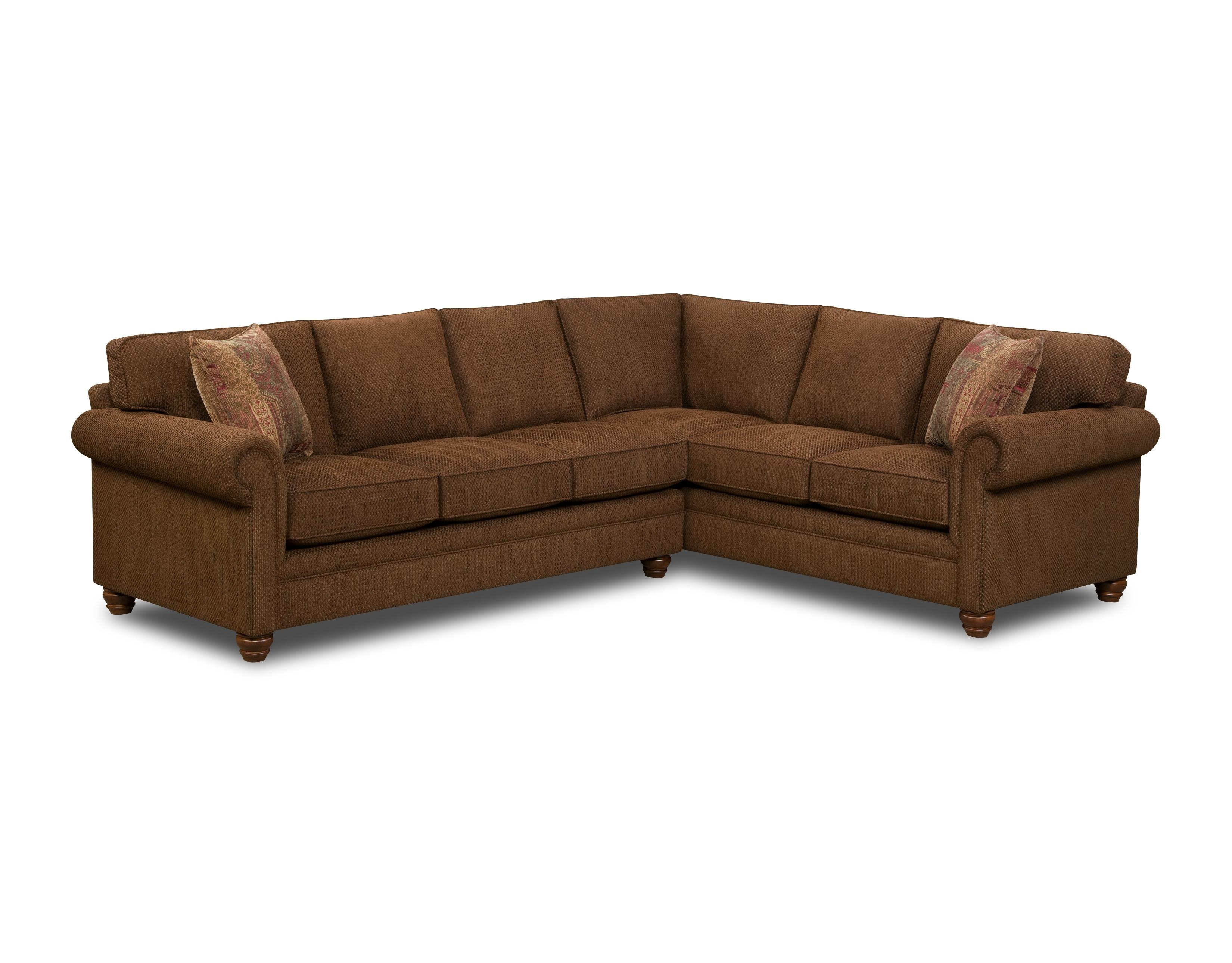 Bauhaus Z18A 2 Piece Traditional Sectional Sofa AHFA Sofa