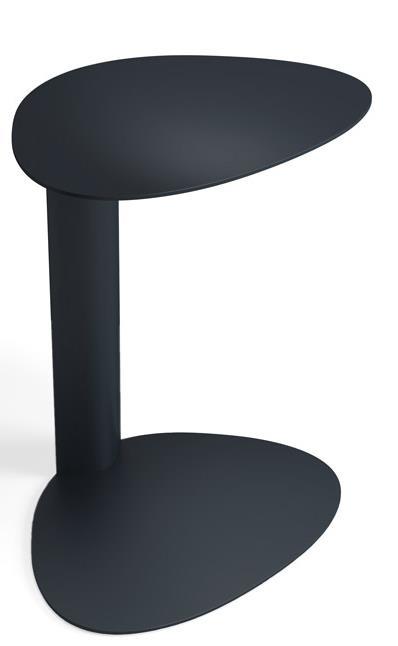 BDI Bink Mobile Media Table - Item Number: 1025-Pepper