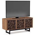 BDI Elements Triple Console with Laser Cut Door Fronts