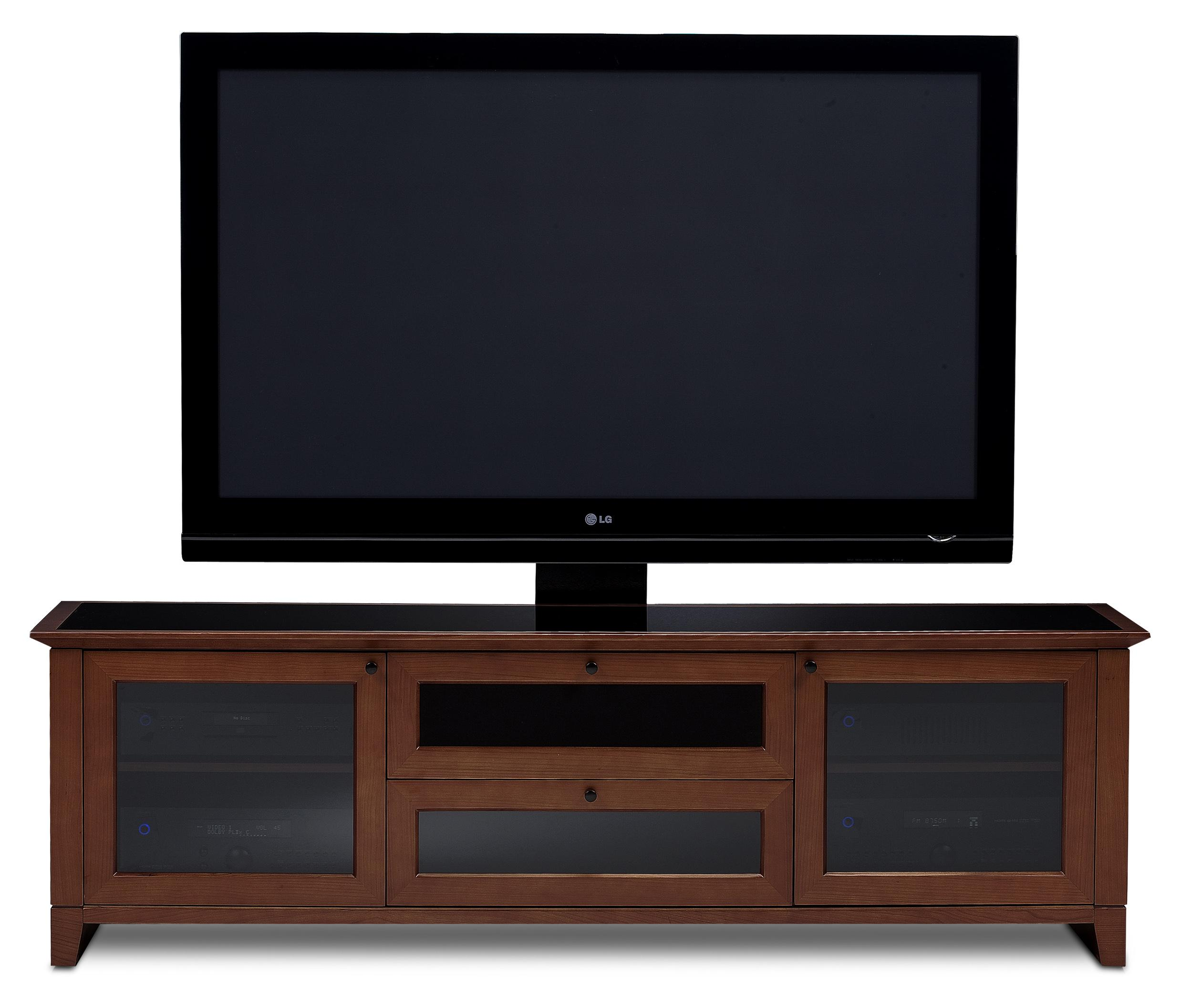 BDI Novia Home Theater Cabinet - Item Number: 8429-2 Cocoa