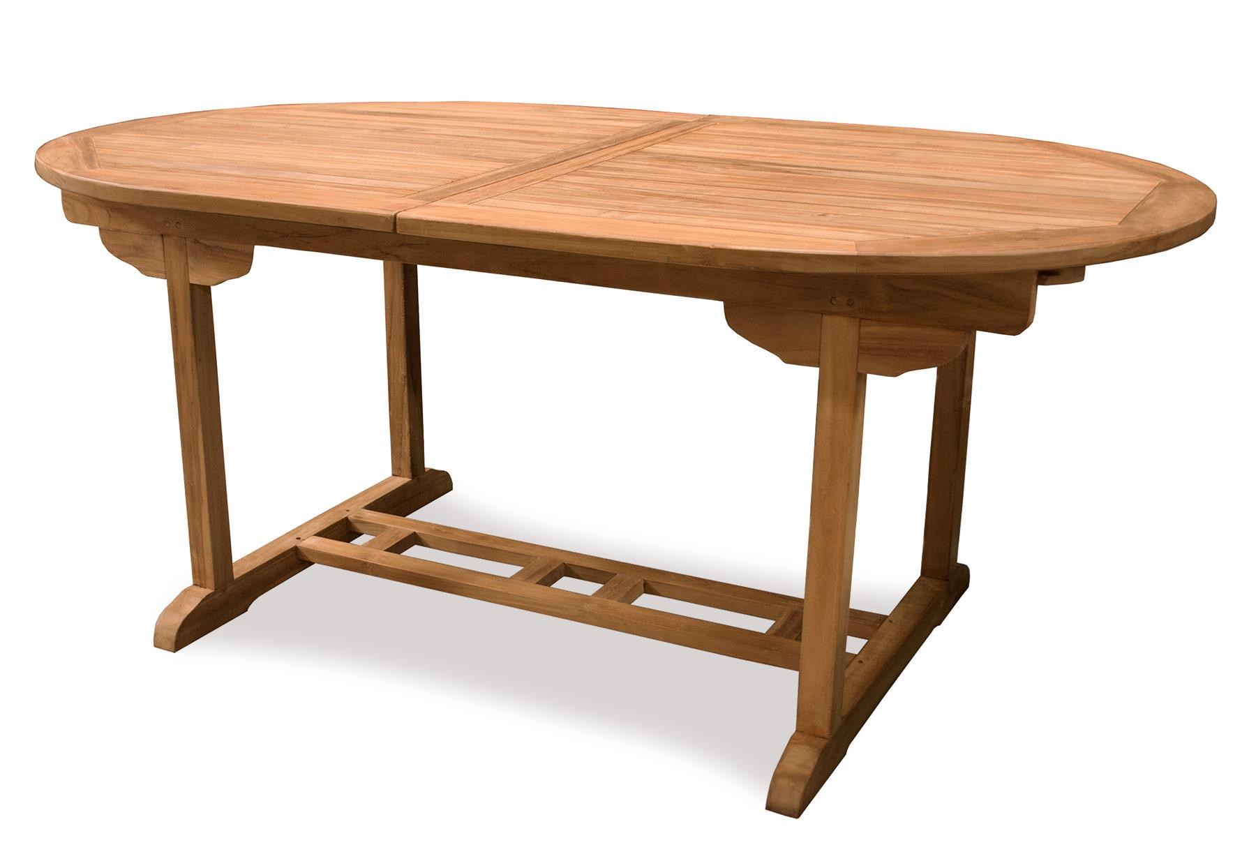 BeachCraft Bali Expandable Teak Dining Table - Item Number: DT9870