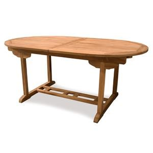 BeachCraft Bali Expandable Teak Dining Table