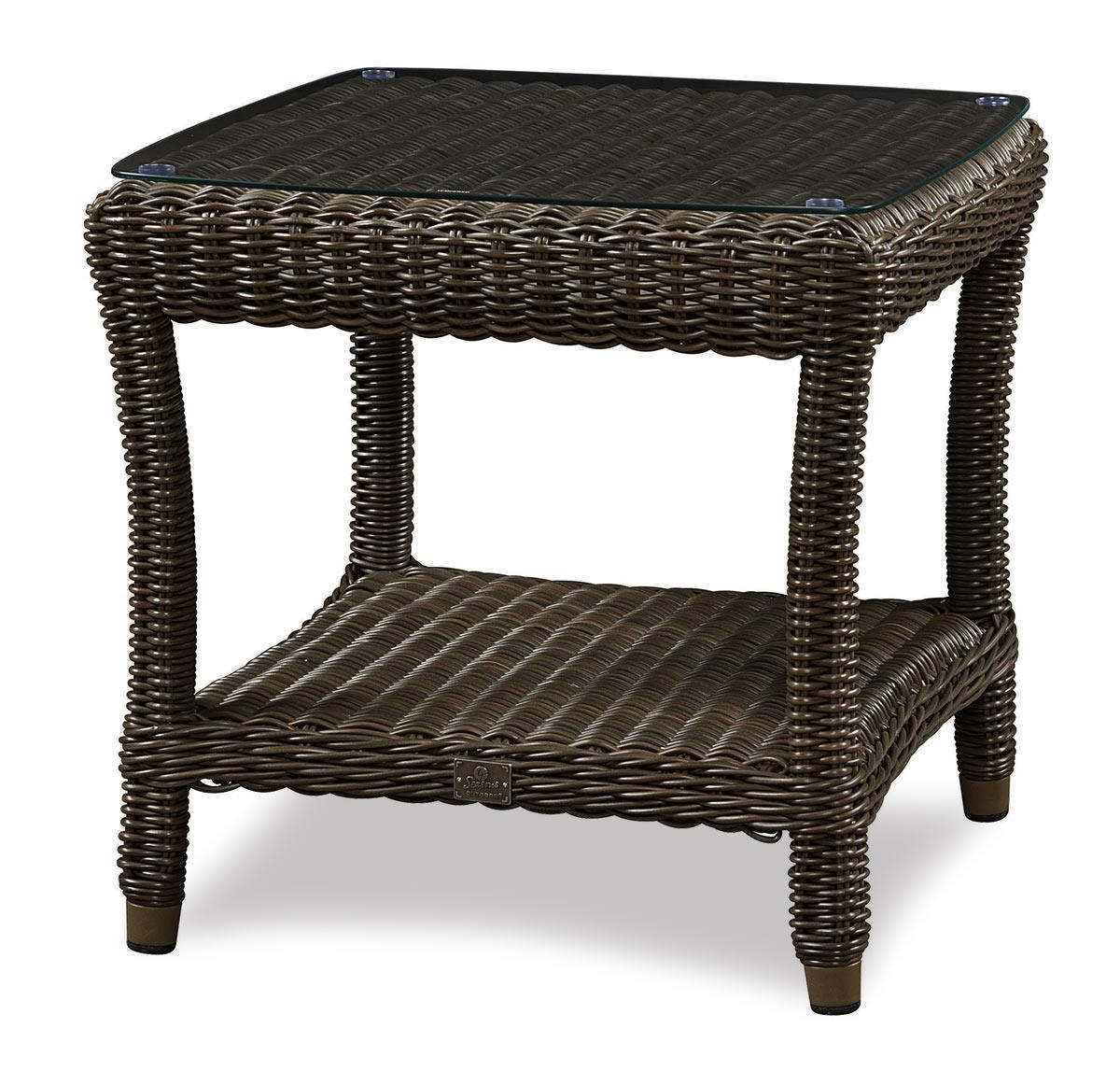 BeachCraft Bayou Outdoor/Patio End Table - Item Number: LT9858