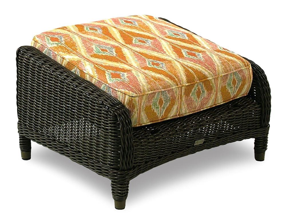 BeachCraft Bayou Outdoor/Patio Ottoman - Item Number: OT9858M