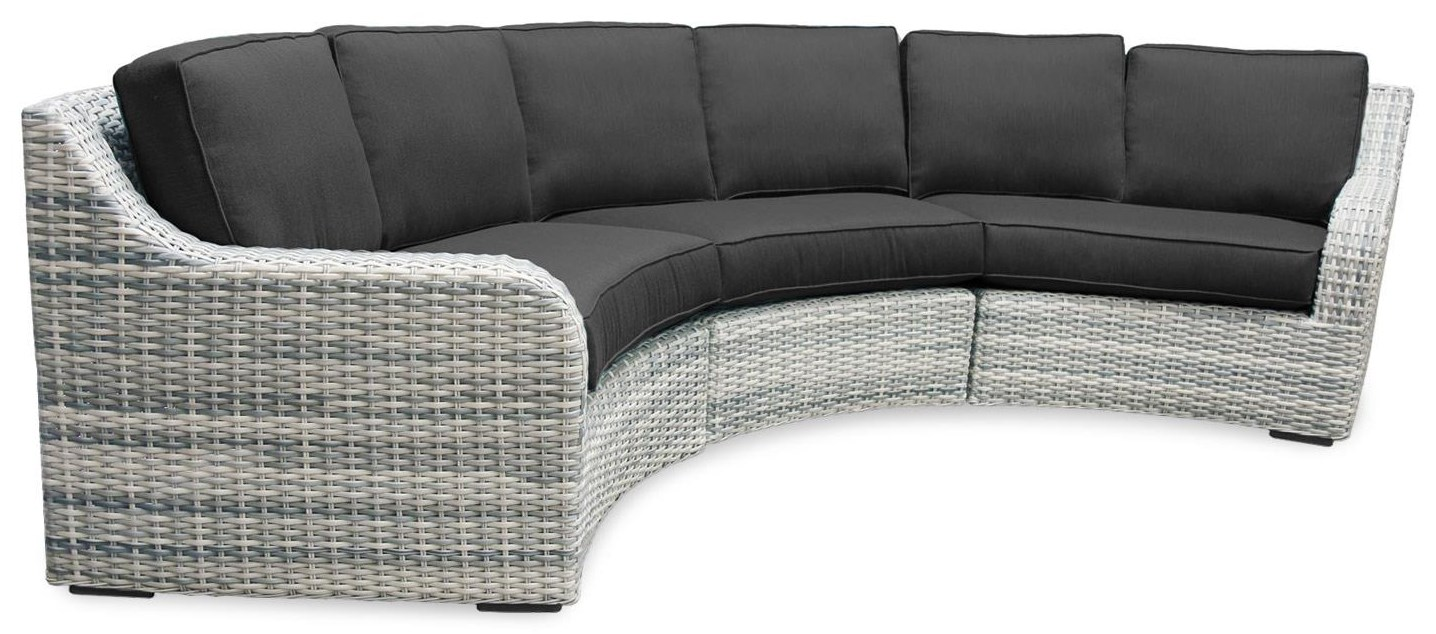 3PC Outdoor Sectional Sofa