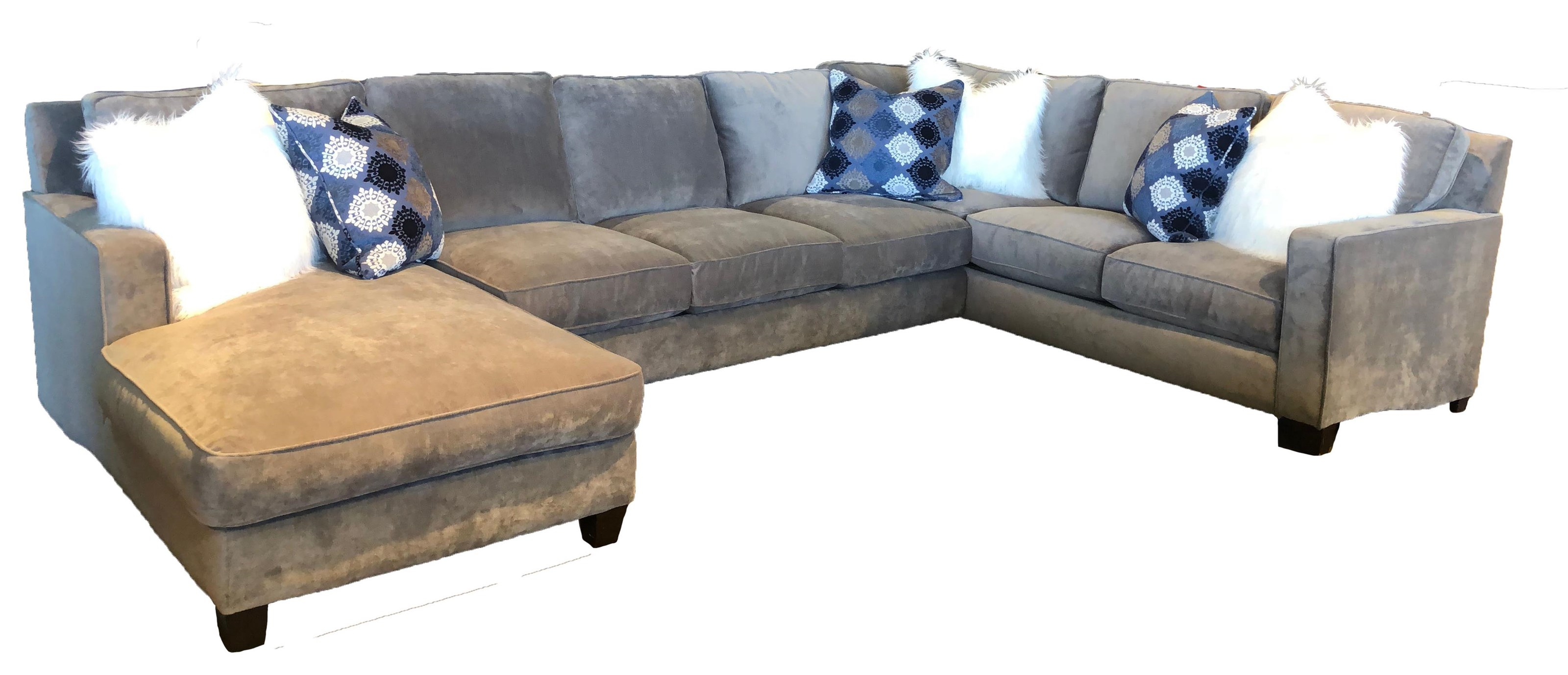 Reeds Trading Company 1000 1000 3 Piece Down Sectional - Item Number: 1000 3 PC Sectional-RAF Tux