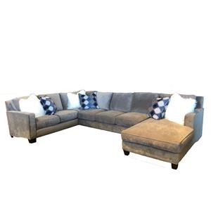 Reeds Trading Company 1000 1000 3 Piece Down Sectional