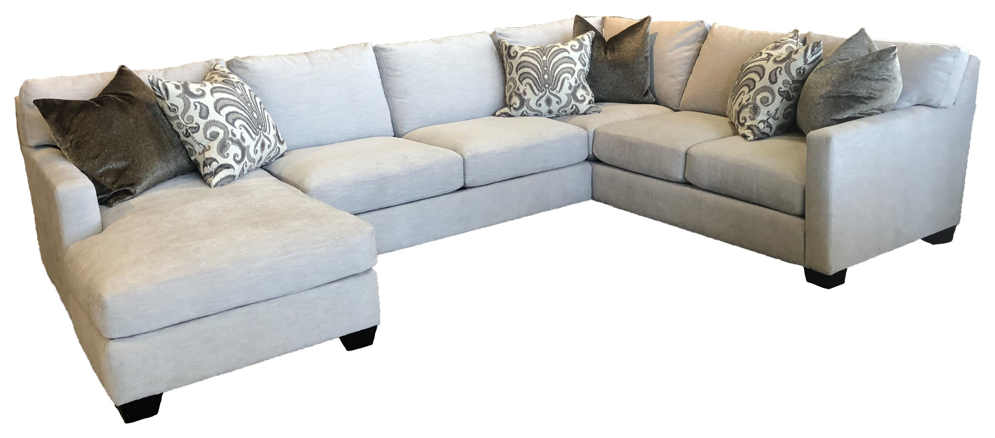 Reeds Trading Company 1300 1300 3 Piece Sectional - Item Number: 1300 3 Piece Sectional LAF Tux 78 S