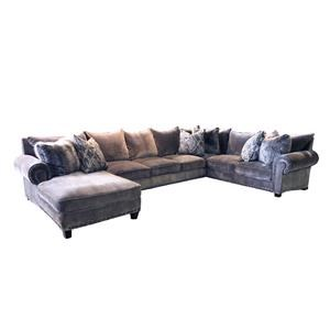 Reeds Trading Company 9000 9000A 3 PIece Down Sectional