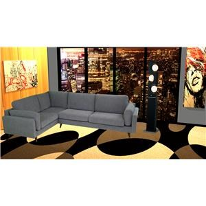 reeds trading company bodhi mid century modern sectional