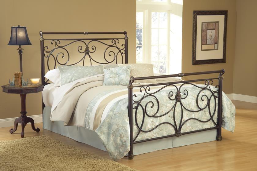 Brady Queen Metal Bed at Bennett's Furniture and Mattresses