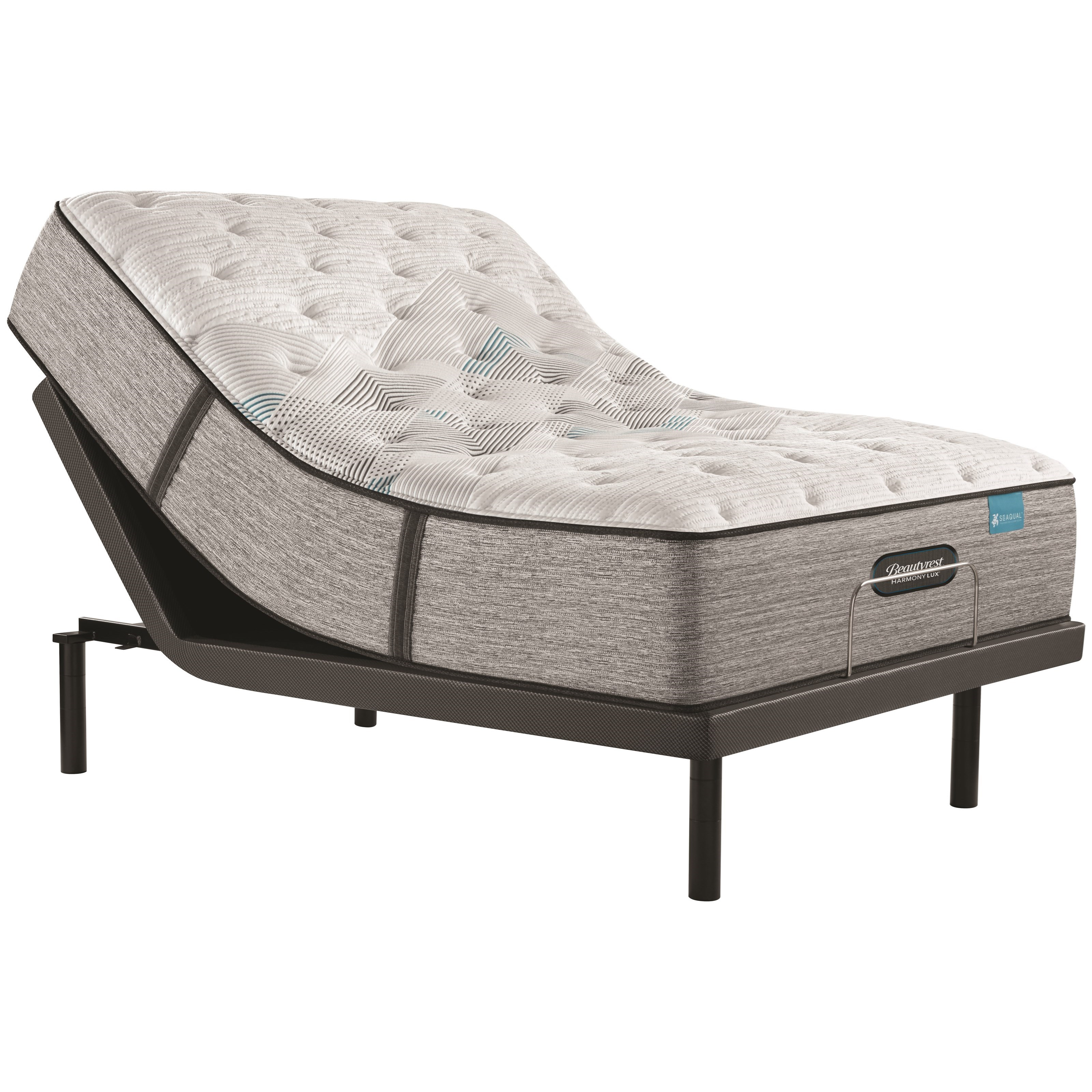 "Carbon Series Plush Queen 13 3/4"" Plush Adj Set by Beautyrest at Walker's Mattress"