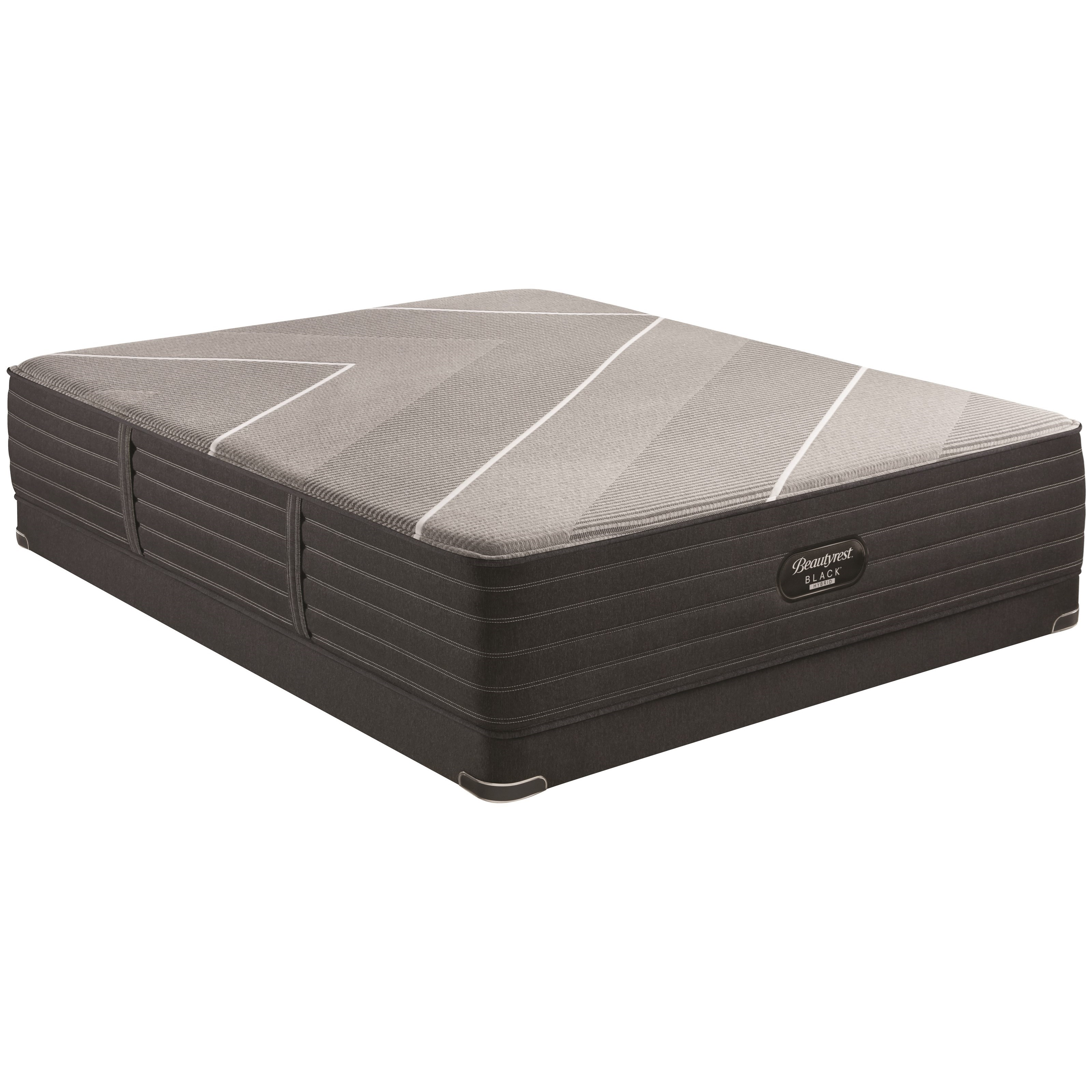 "X-Class Hybrid Firm Queen 14 1/2"" Firm Hybrid LP Set by Beautyrest at Walker's Mattress"