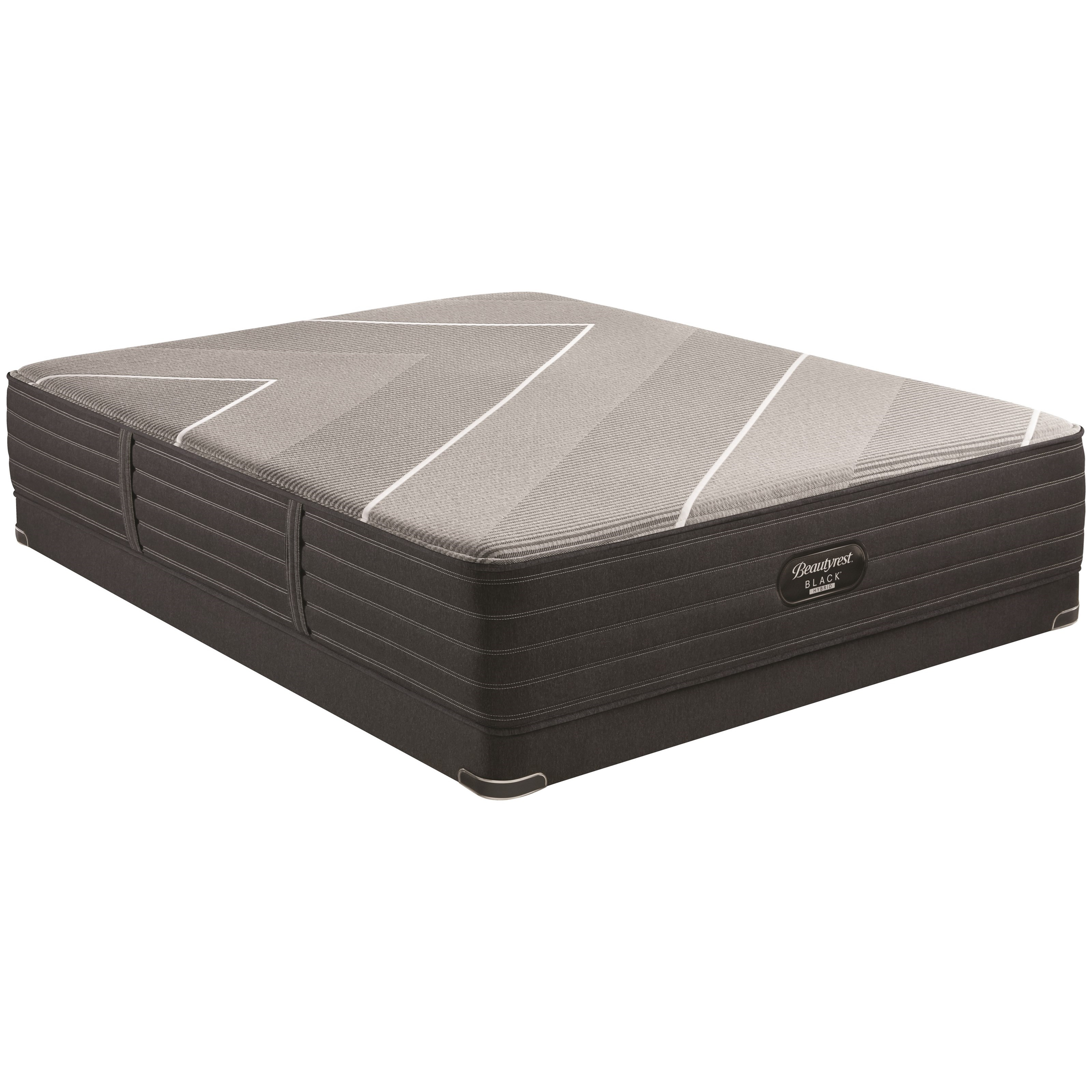 "X-Class Hybrid Medium Queen 13 1/2"" Medium Feel Hybrid LP Set by Beautyrest at Walker's Mattress"