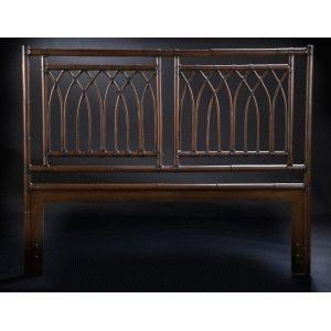 C.S. Wo & Sons Arches Queen Headboard - Item Number: ARCHES - TOBACCO