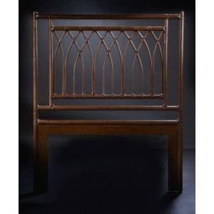 C.S. Wo & Sons Arches Twin Headboard - Item Number: ARCHES - TOBACCO