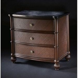 C.S. Wo & Sons Kingston 3 Drawer Nightstand - Item Number: KNGSTN NTSTND