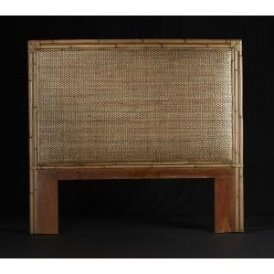 C.S. Wo & Sons Mandarin Twin Headboard