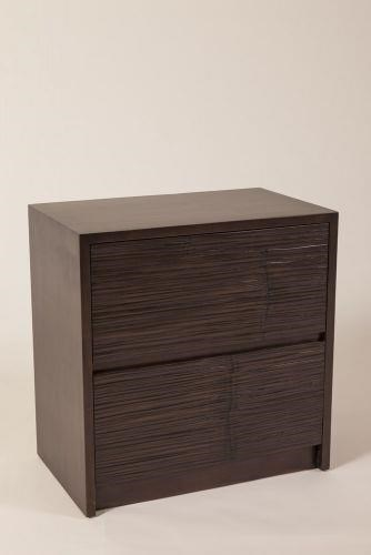 Metro 2 Drawer Nightstand by C.S. Wo & Sons at C. S. Wo & Sons California